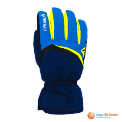 Перчатки горнолыжные REUSCH 2020-21 Balin R-Tex® XT Imperial Blue/Neon Yellow 9""
