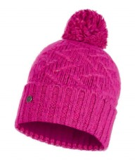 Шапка Buff KNITTED & POLAR HAT EBBA BRIGHT PINK (US:one size)