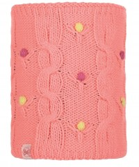 Шарф Buff JR KNITTED & POLAR NECKWARMER DYSHA FLAMINGO PINK (US:one size)