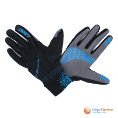 Перчатки KV+ FOCUS cross country gloves blue\black 21G07.2