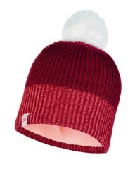 Шапка Buff JR KNITTED & POLAR HAT AUDNY WINE (US:one size)